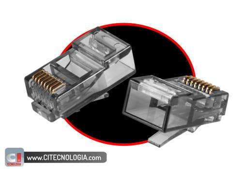 conectores rj45 para cabo de rede de qualidade