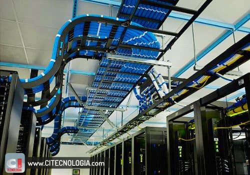 instalação de cabeamento de rede profissional