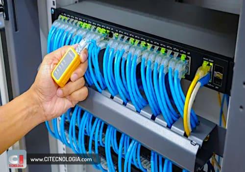certificação de cabeamento de rede de dados estruturada para computadores em suzano